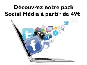 Réseaux sociaux pack-social